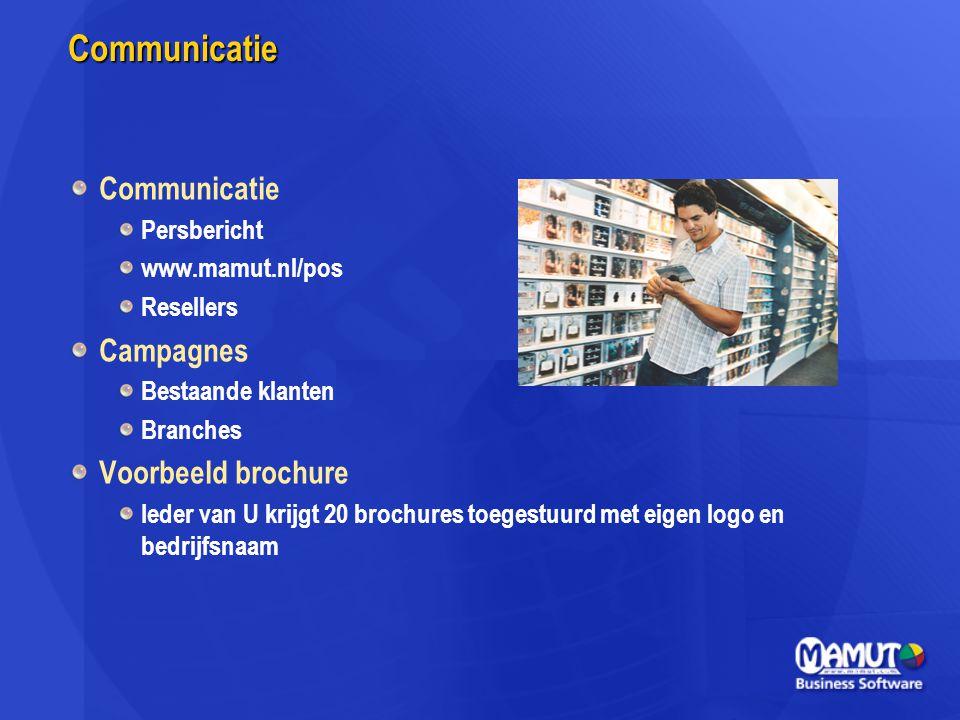 Communicatie Communicatie Campagnes Voorbeeld brochure Persbericht