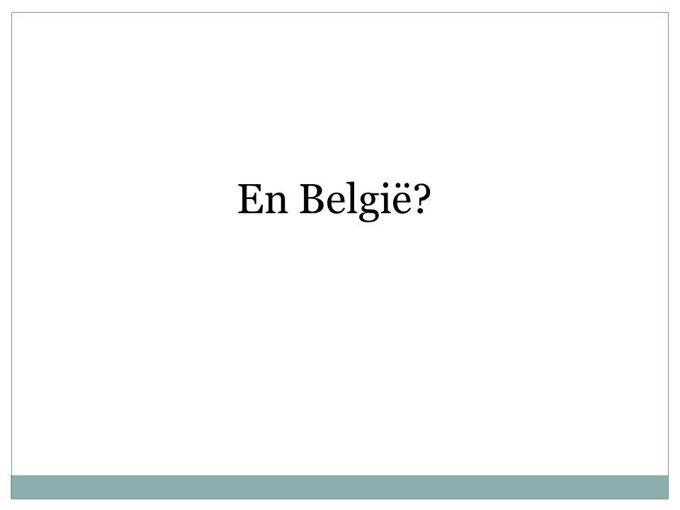 En België