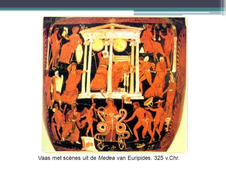 Vaas met scènes uit de Medea van Euripides. 325 v.Chr.