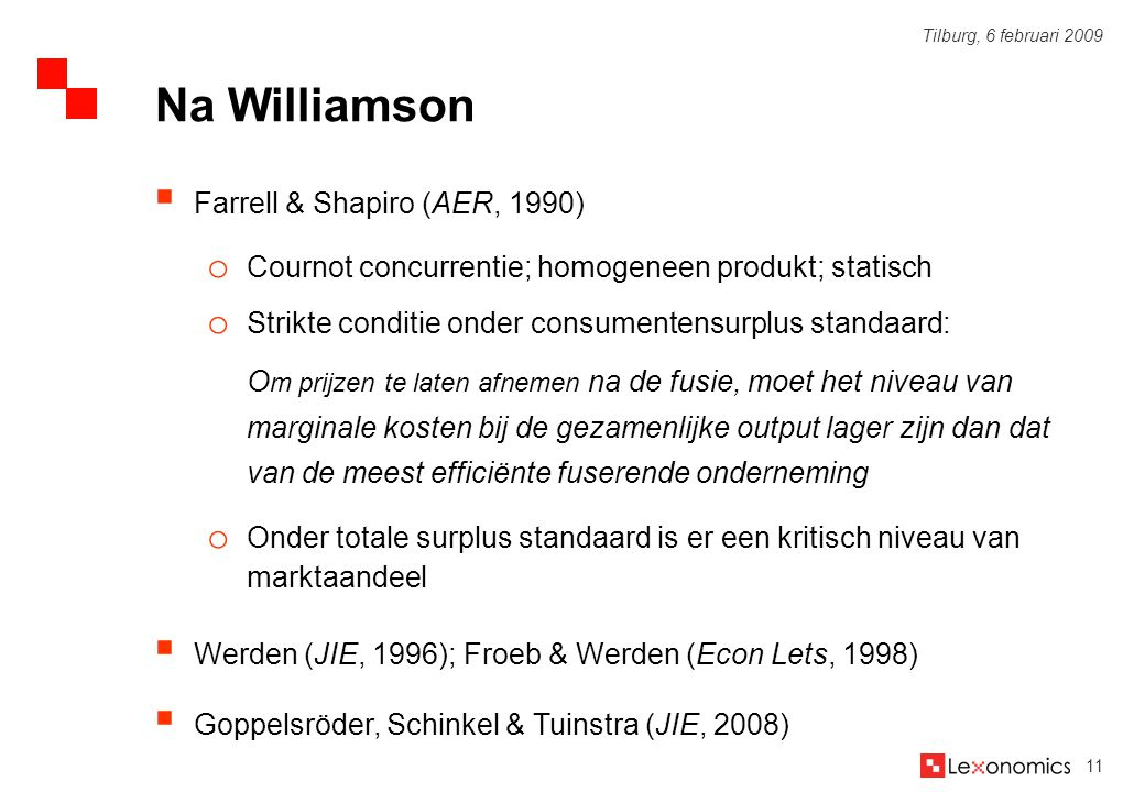Na Williamson Farrell & Shapiro (AER, 1990)