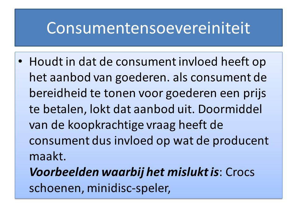 Consumentensoevereiniteit