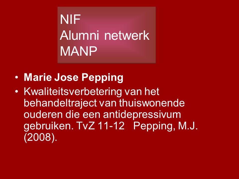 NIF Alumni netwerk MANP