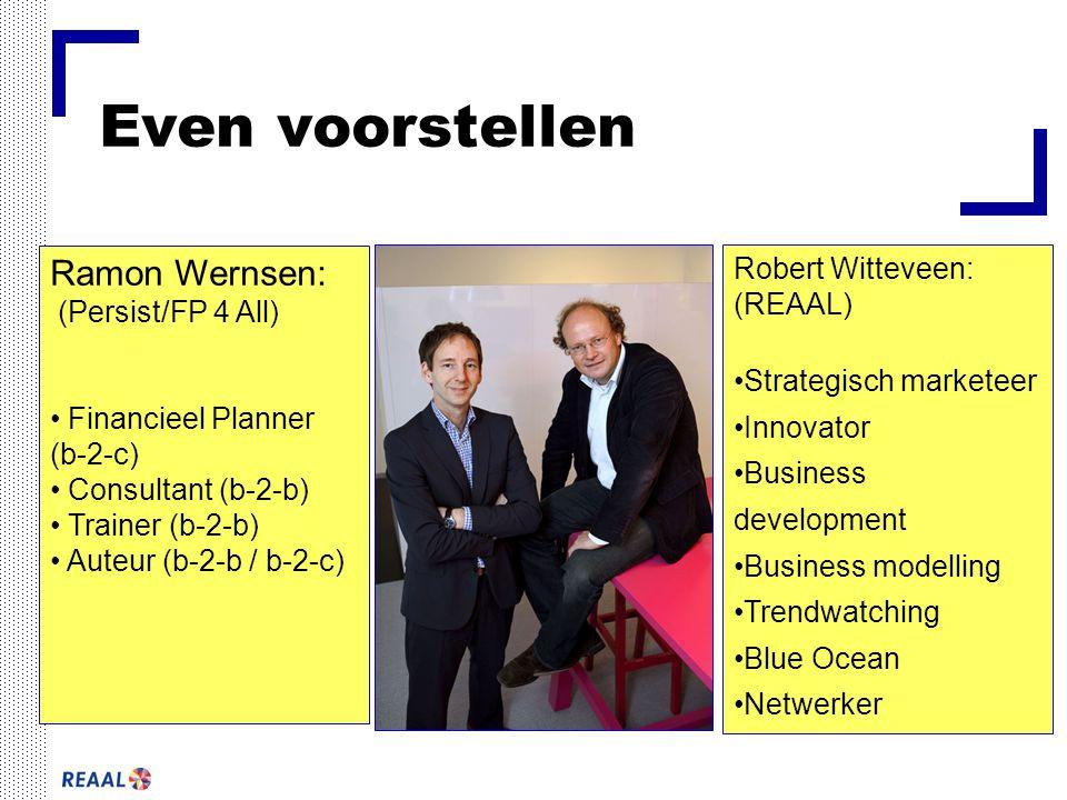 Even voorstellen Ramon Wernsen: Robert Witteveen: (REAAL)