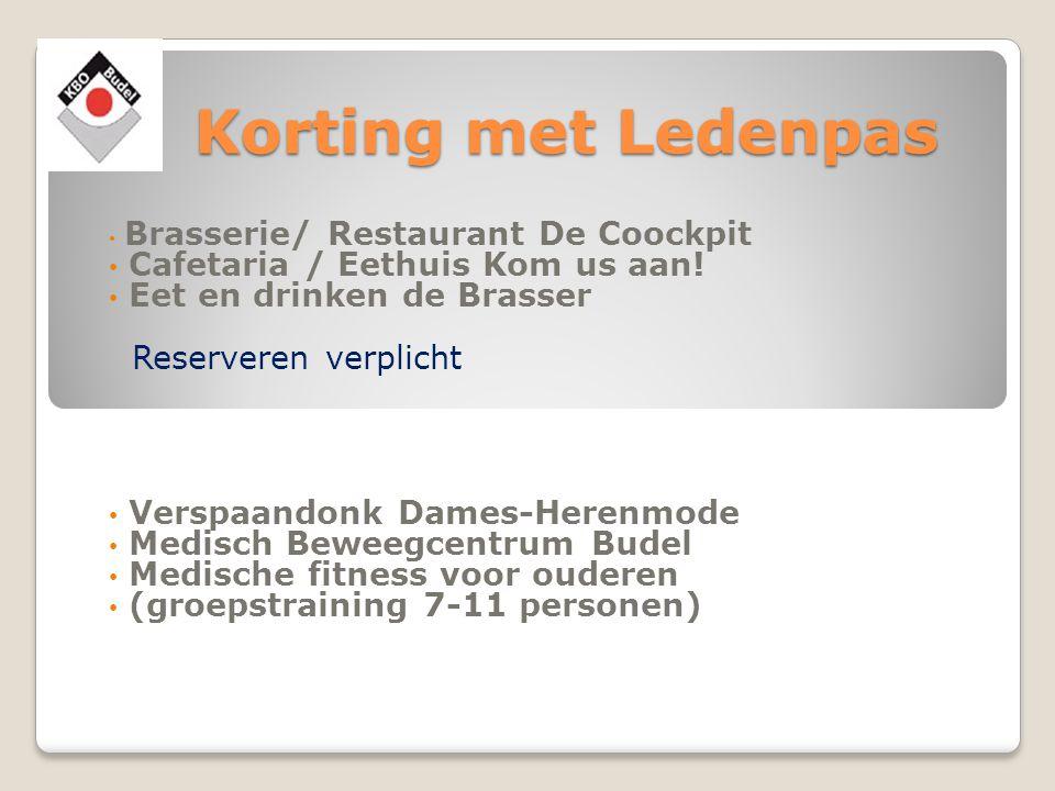 Korting met Ledenpas Cafetaria / Eethuis Kom us aan!