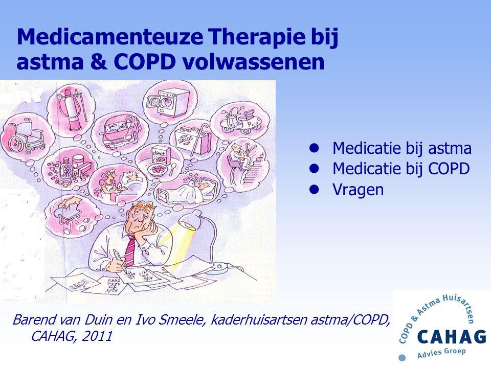 Medicamenteuze Therapie bij astma & COPD volwassenen