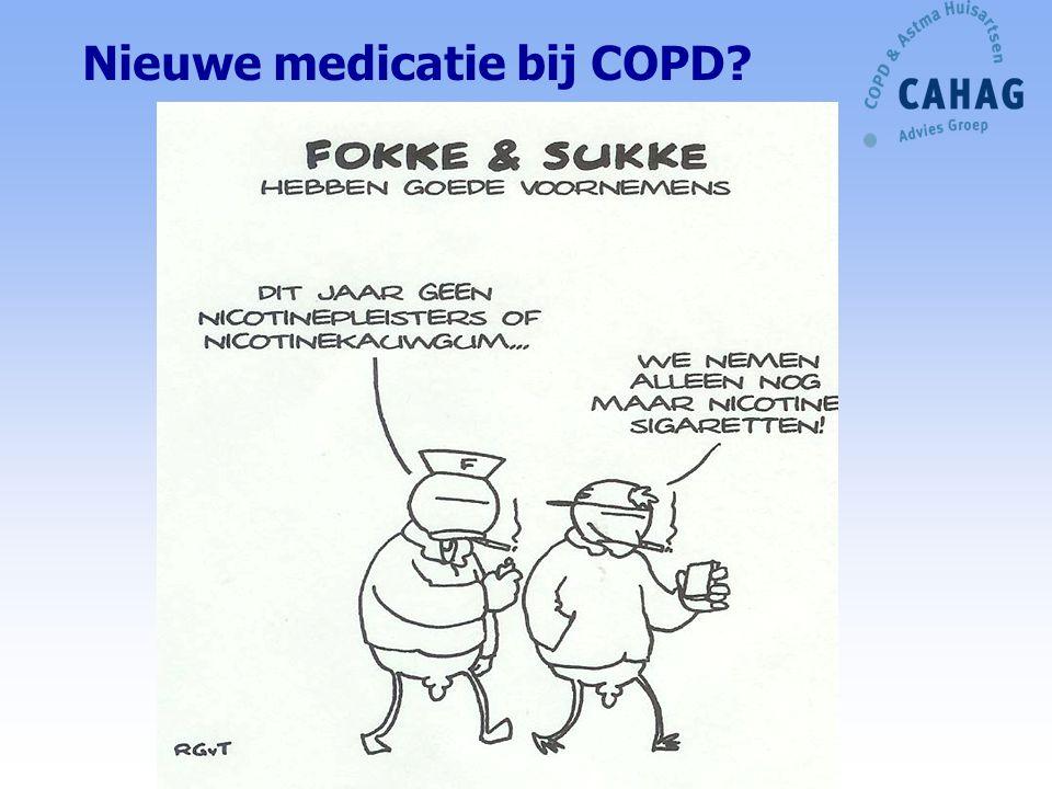 Nieuwe medicatie bij COPD