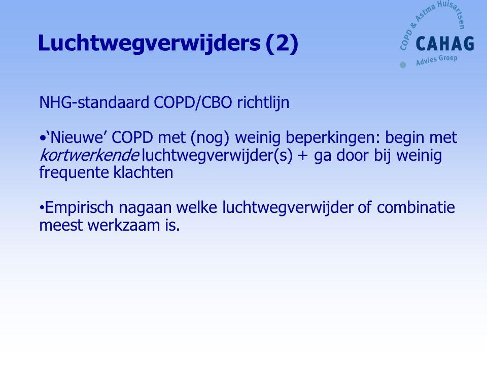 Luchtwegverwijders (2)