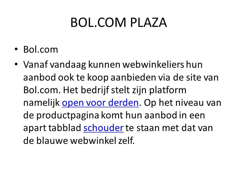 BOL.COM PLAZA Bol.com.