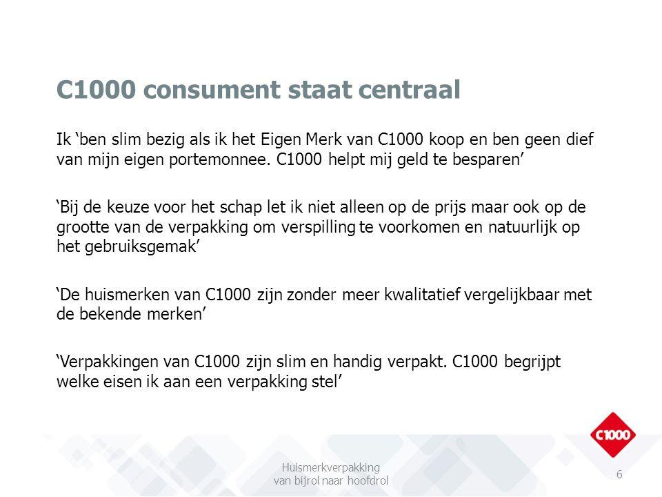 C1000 consument staat centraal