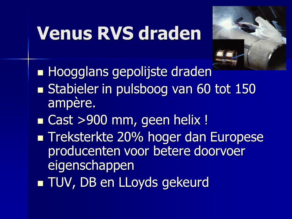 Venus RVS draden Hoogglans gepolijste draden