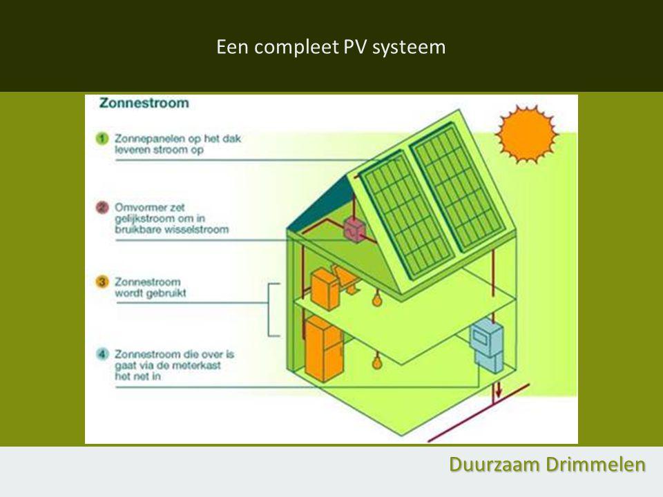 Een compleet PV systeem