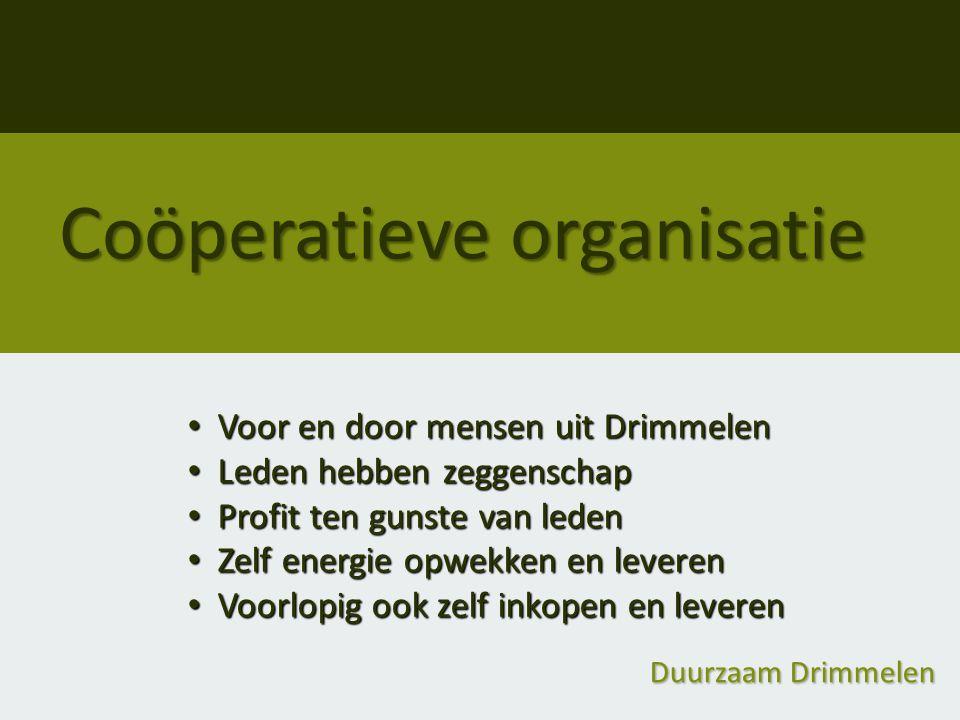 Coöperatieve organisatie