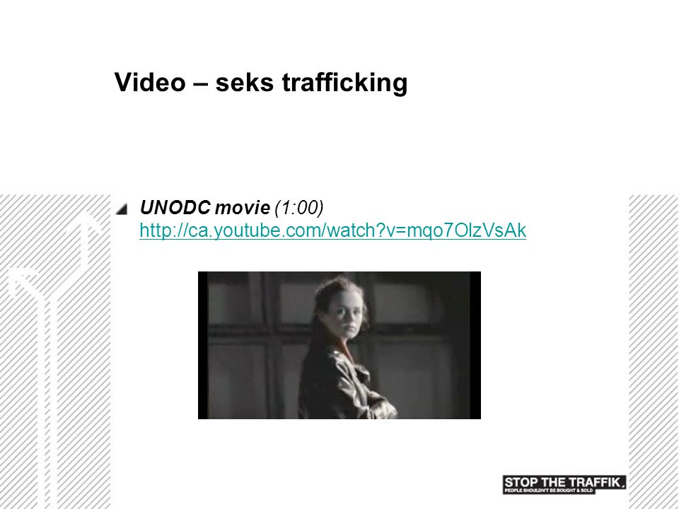 Video – seks trafficking