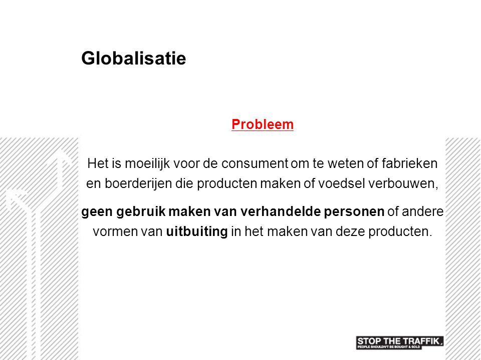 Globalisatie Probleem