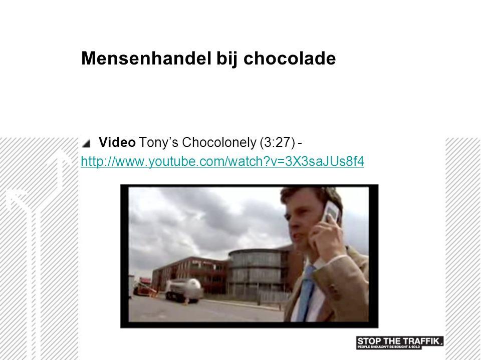 Mensenhandel bij chocolade
