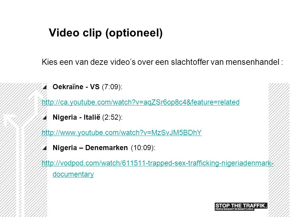 Video clip (optioneel)