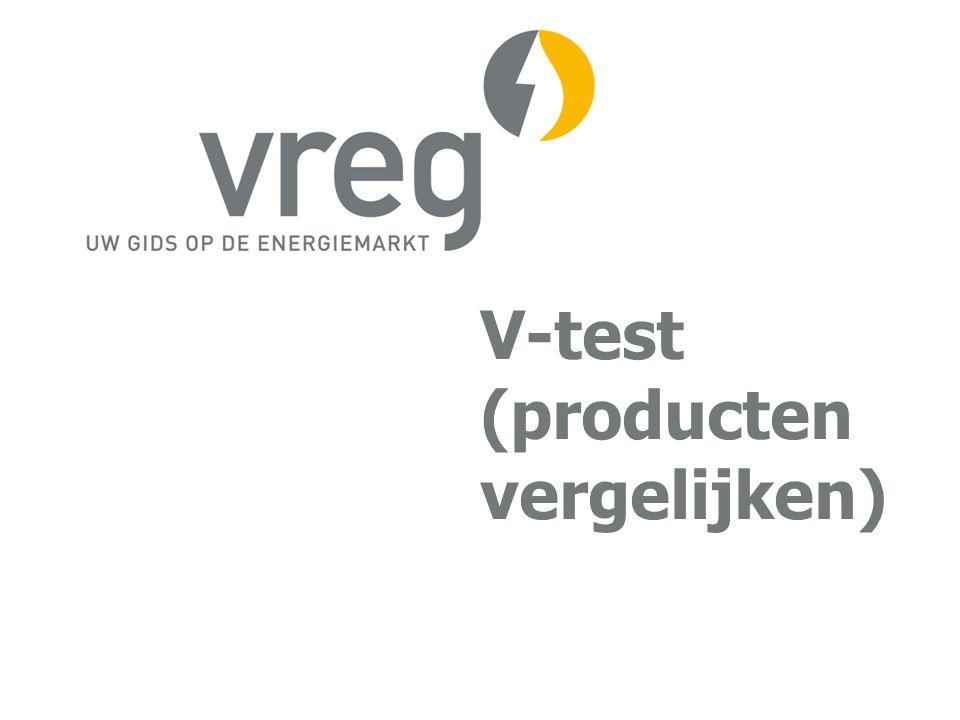 V-test (producten vergelijken)