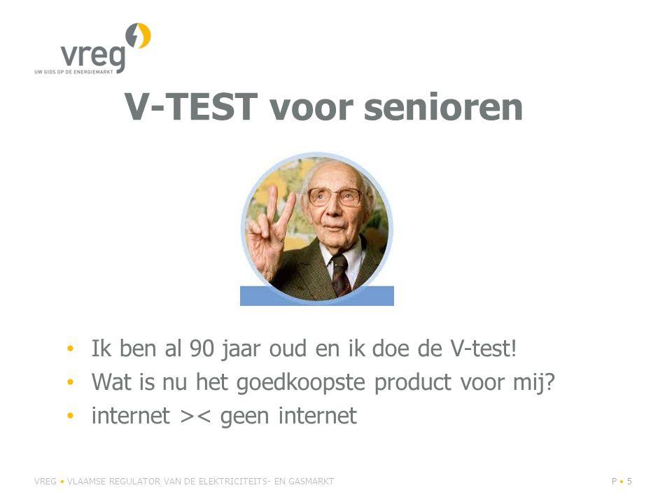 V-TEST voor senioren Ik ben al 90 jaar oud en ik doe de V-test!