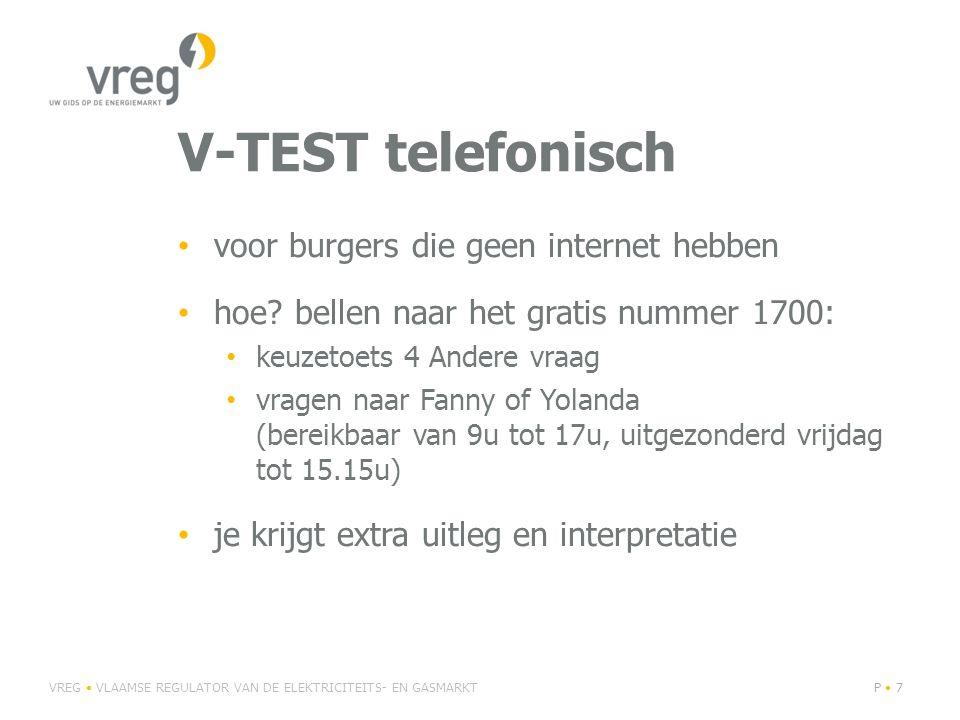 V-TEST telefonisch voor burgers die geen internet hebben