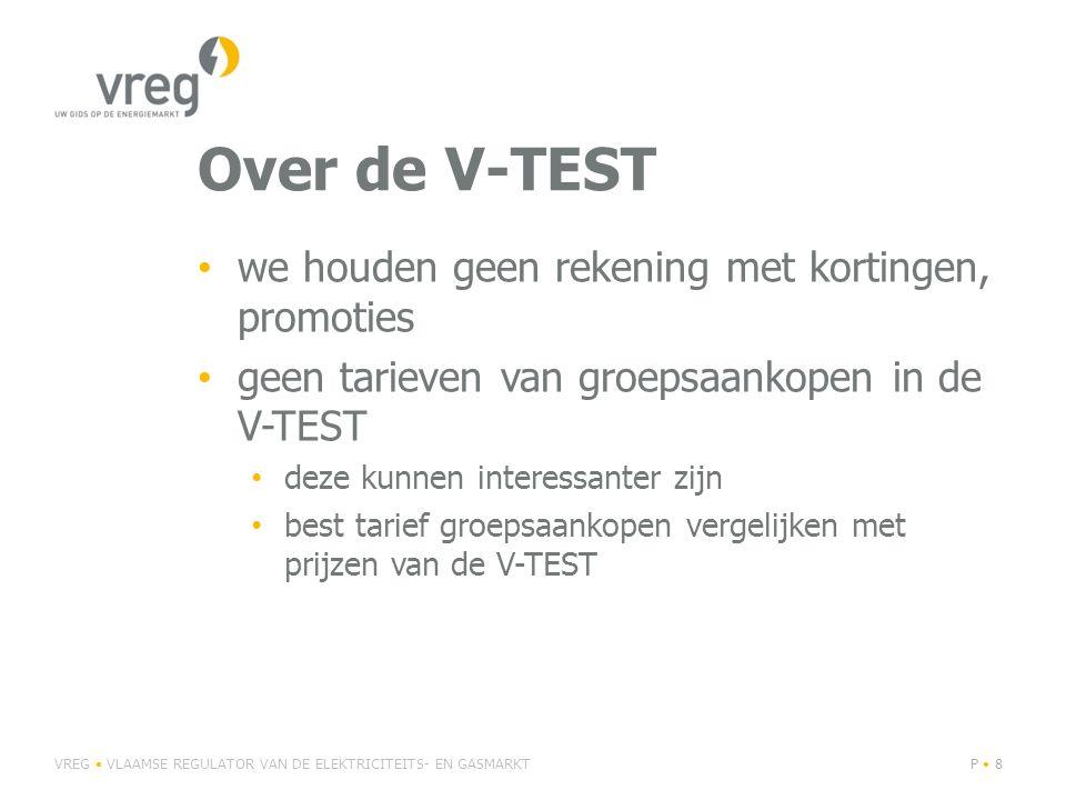 Over de V-TEST we houden geen rekening met kortingen, promoties