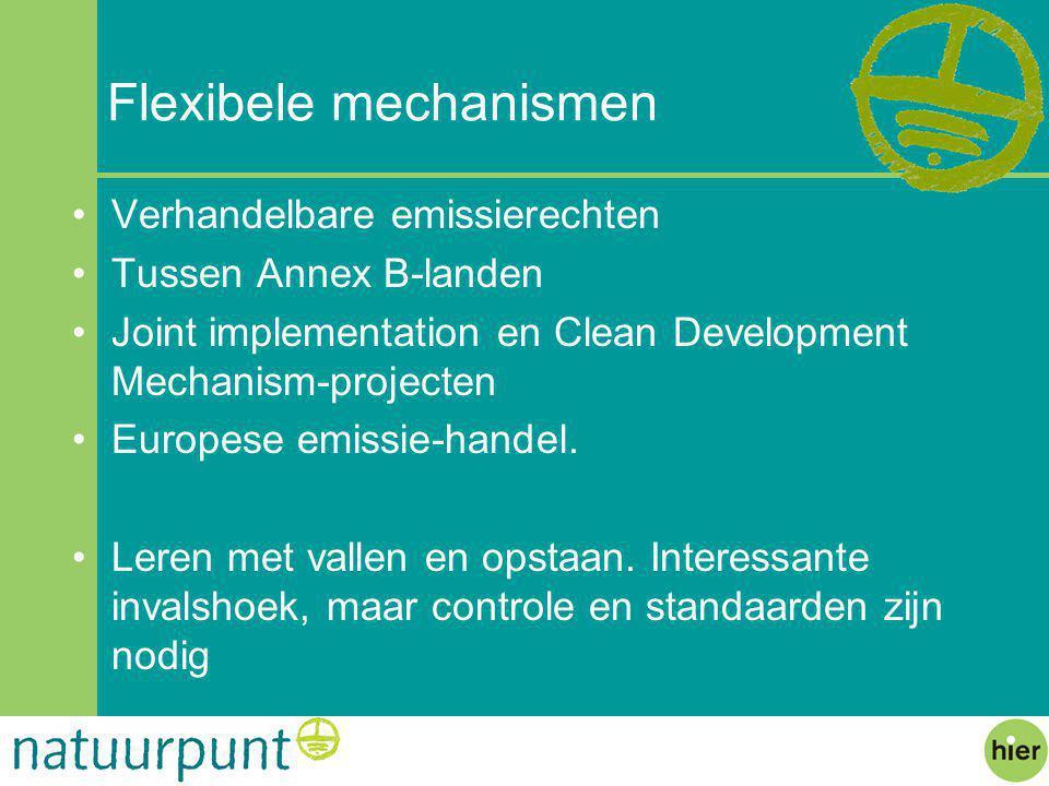 Flexibele mechanismen