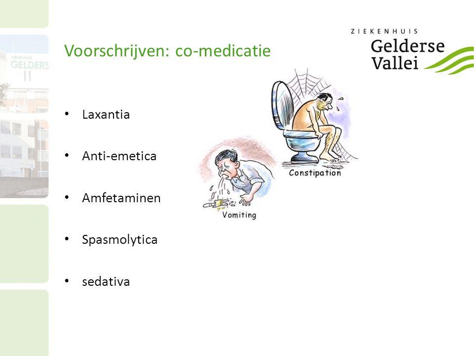 Voorschrijven: co-medicatie