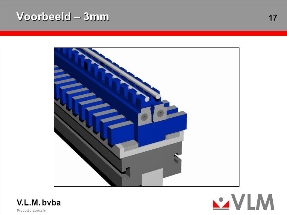 V opening – Min. 24mm Max. 124mm