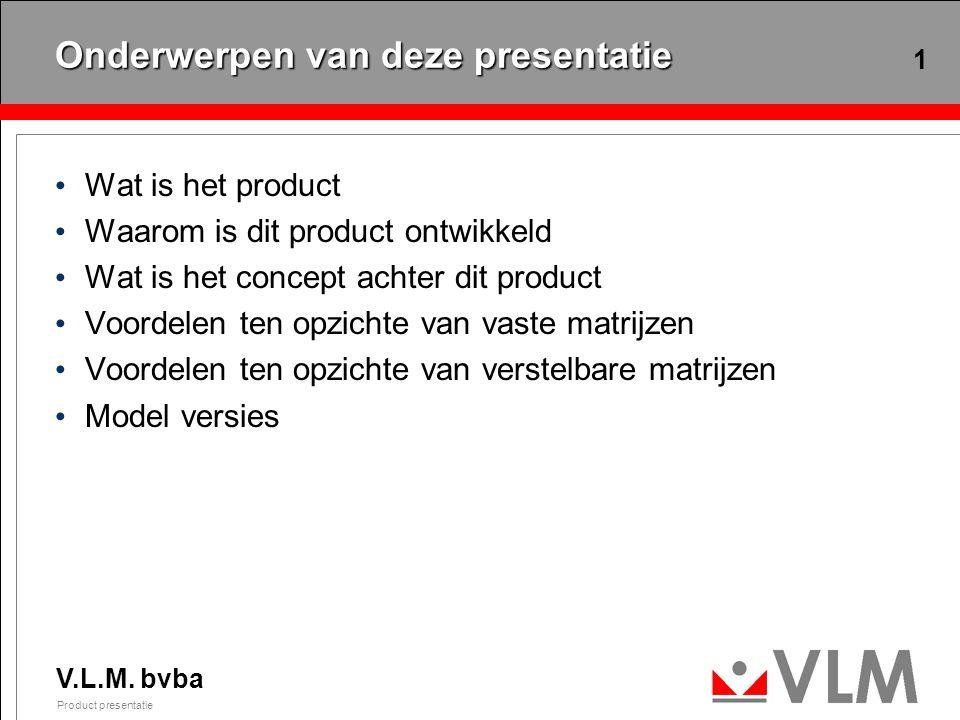 Wat is het product Een verstelbare matrijs met: Een groot inzetbereik
