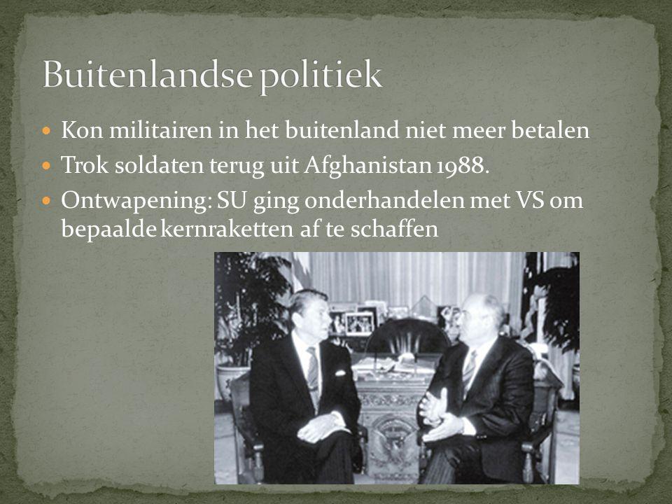 Buitenlandse politiek