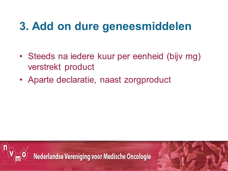 3. Add on dure geneesmiddelen
