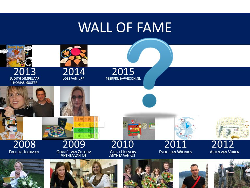 WALL OF FAME Judith Simpelaar
