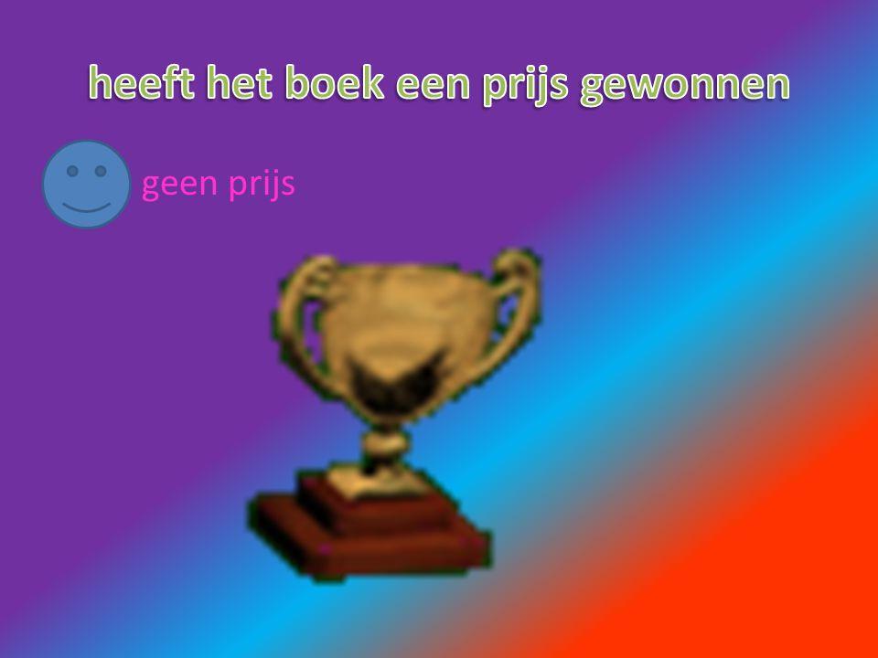 heeft het boek een prijs gewonnen