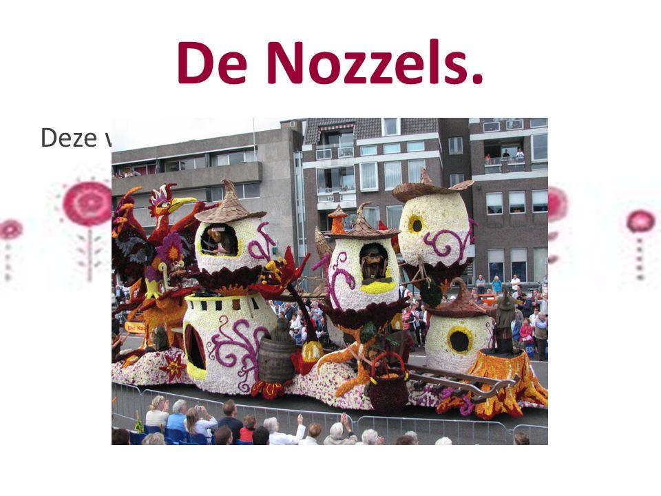 De Nozzels. Deze wagen is gemaakt door Crescendo.
