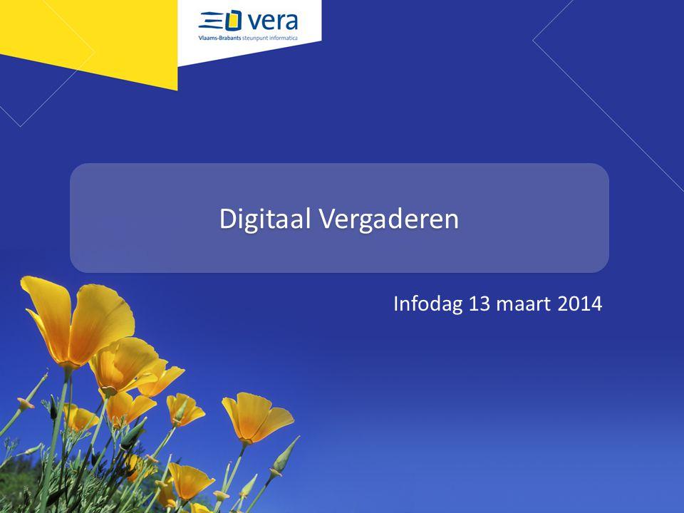 Overdracht Digitaal Sociaal Huis Infodag 13 maart 2014