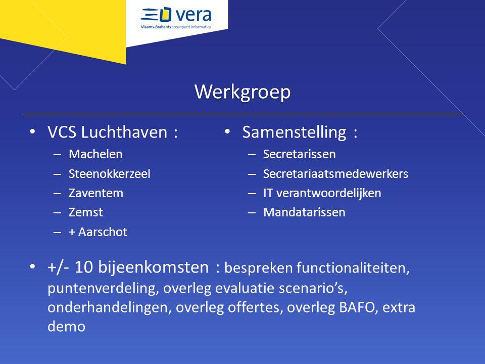 Werkgroep VCS Luchthaven :