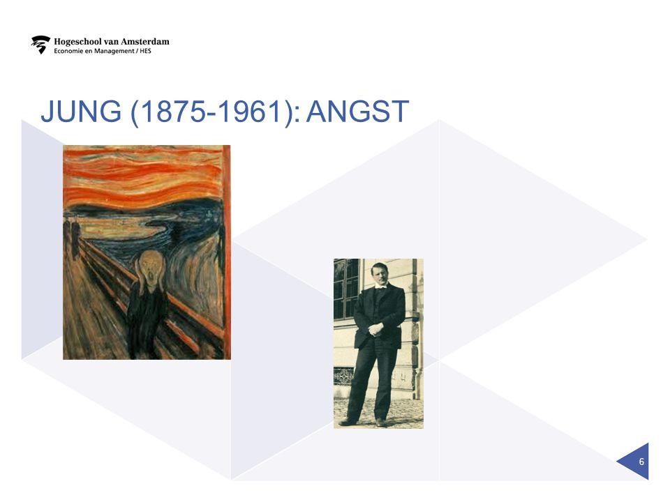JUNG (1875-1961): angst