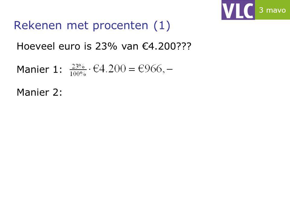 Rekenen met procenten (1)