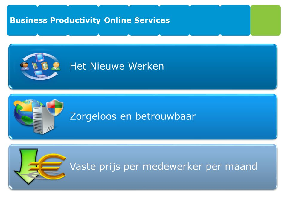 Business Productivity Online Services