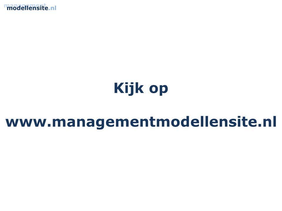 Kijk op www.managementmodellensite.nl