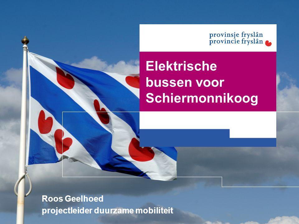 Elektrische bussen voor Schiermonnikoog