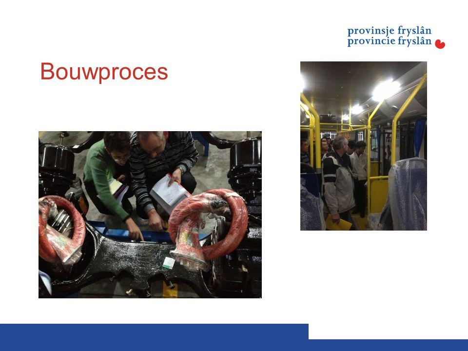 Bouwproces Gedurende het bouwproces hebben we het projectmanagement strak vormgegeven. We zijn met het afnameteam 2x in China geweest.