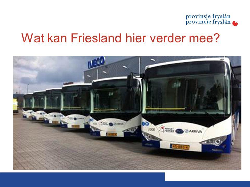 Wat kan Friesland hier verder mee