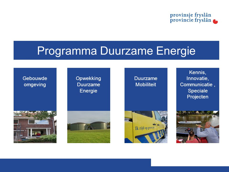 Programma Duurzame Energie