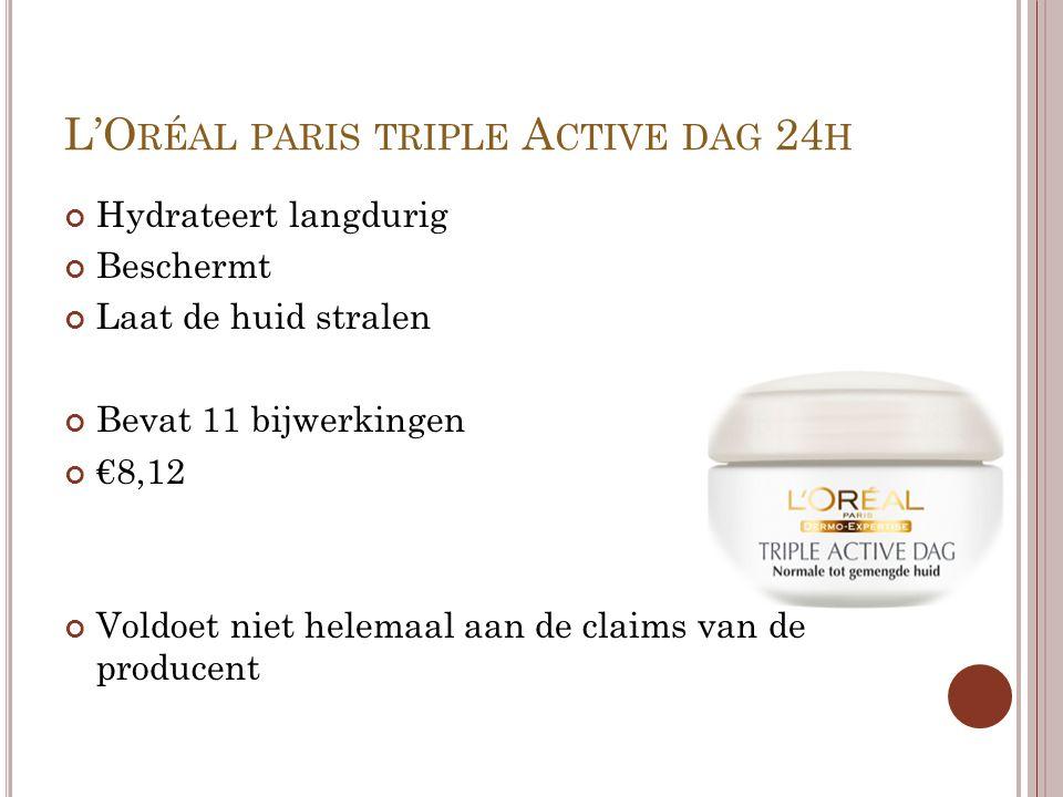 L'Oréal paris triple Active dag 24h