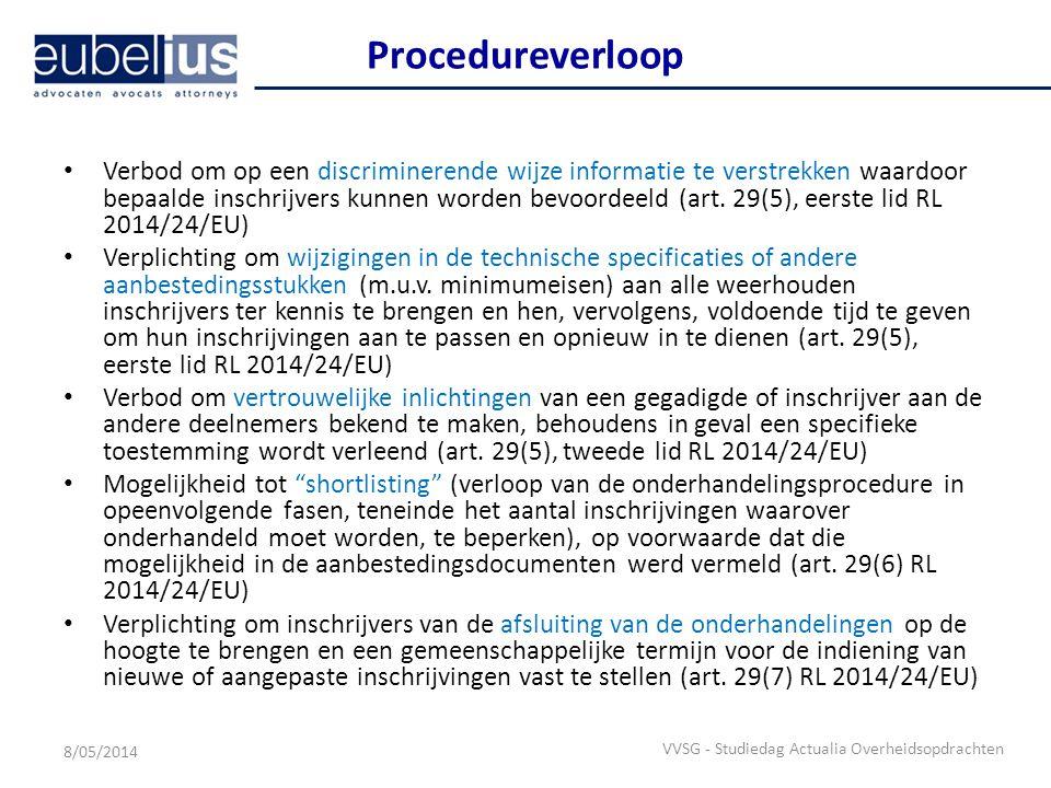 Procedureverloop