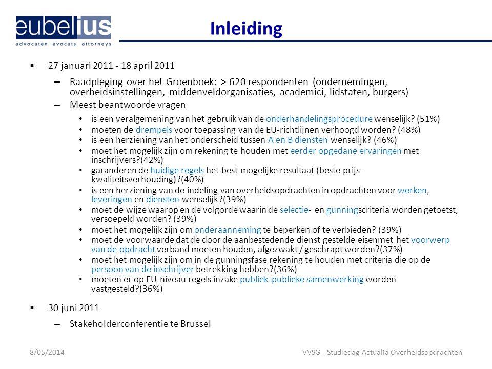 Inleiding 27 januari 2011 - 18 april 2011.