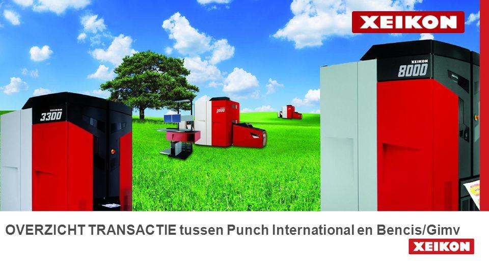 OVERZICHT TRANSACTIE tussen Punch International en Bencis/Gimv