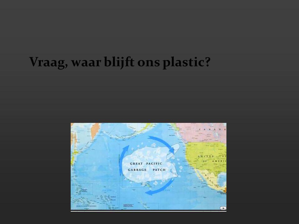 Vraag, waar blijft ons plastic