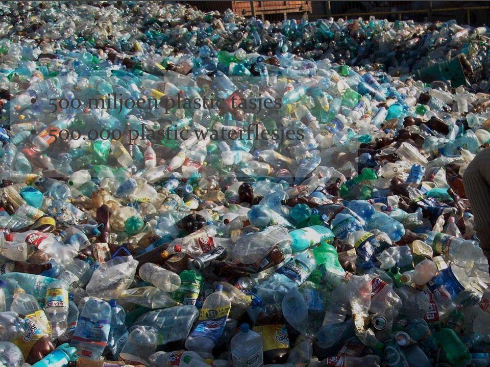 500 miljoen plastic tasjes