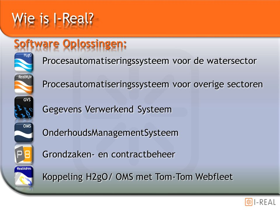 Wie is I-Real Software Oplossingen: